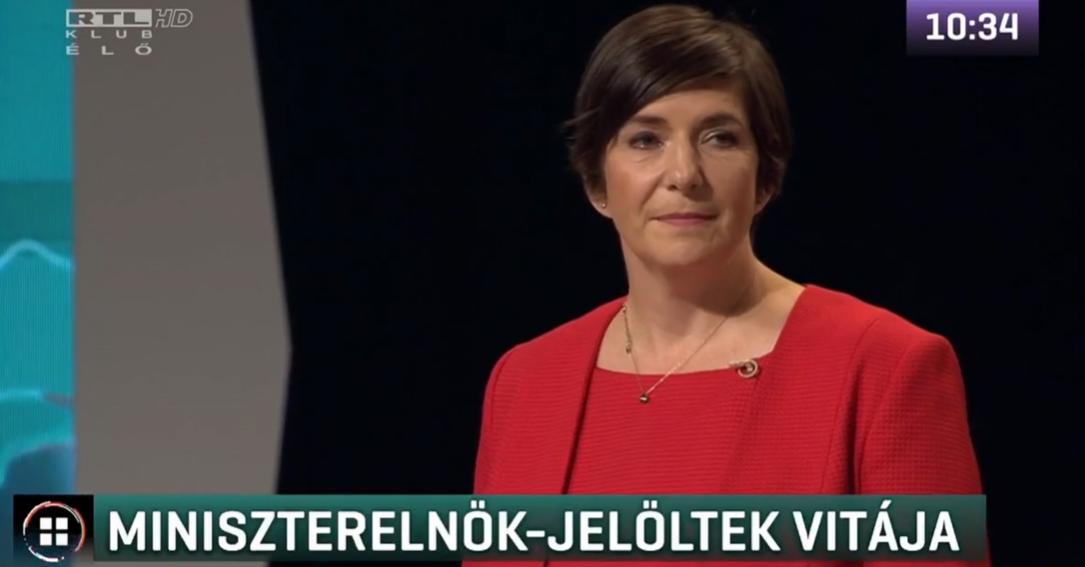 Závecz-felmérés: Dobrev Klára nyerte a második előválasztási vitát