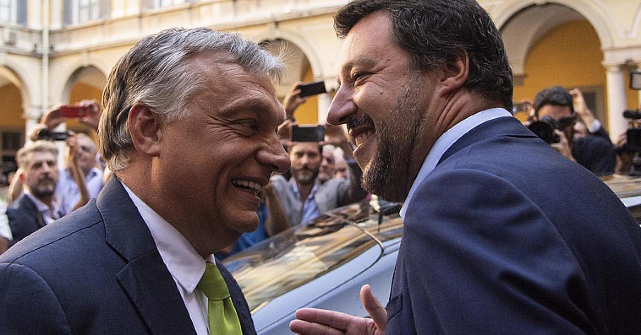 Szélsőjobb az EU-ban: Orbán és elvbarátai díszes társasága