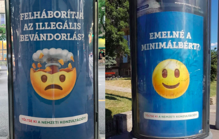 Emojikkal buzdítja a lakosságot a kormány a