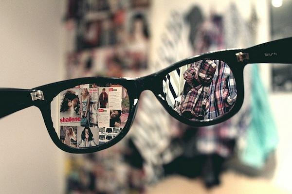 a szemüveg nem látható